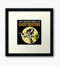 TinTin Ghostbusters Framed Print