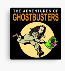 TinTin Ghostbusters Canvas Print