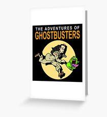 TinTin Ghostbusters Greeting Card