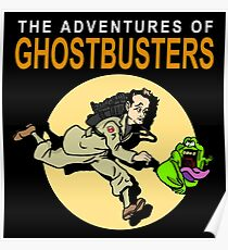 TinTin Ghostbusters Poster