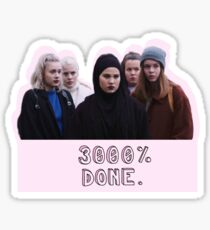 the squad is judging you  Sticker