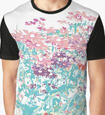 Summer Garden; Flowering Perennials  Graphic T-Shirt
