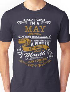 I'm a May women Unisex T-Shirt