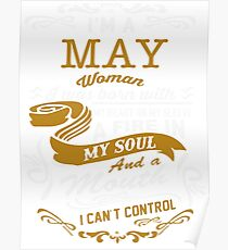 I'm a May women Poster
