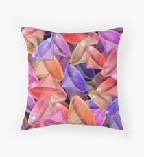 Placer precious stones gems .  Throw Pillow
