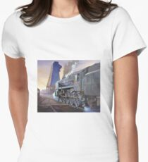 9F at Saltley shed. Women's Fitted T-Shirt