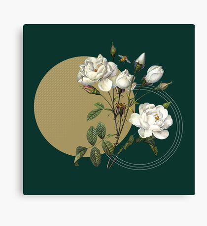Winter Blooms Canvas Print