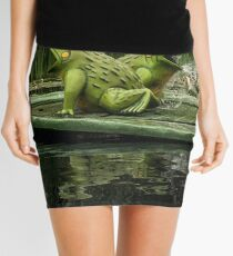 featured frogs Mini Skirt