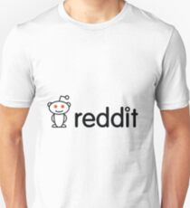 Reddit-Logo Slim Fit T-Shirt