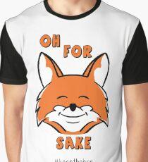 For Fox Sake - Keep the Ban Graphic T-Shirt