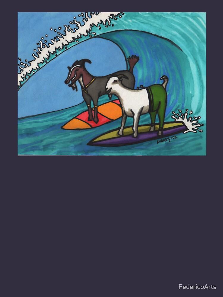 Cabras de surf de FedericoArts