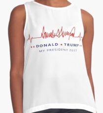 Donald Trump My President Contrast Tank