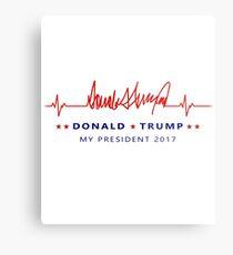 Donald Trump My President Metal Print