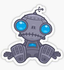 Sad Robot Sticker