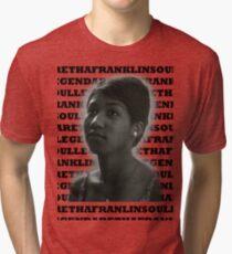 Aretha Franklin Soul Legend Tri-blend T-Shirt