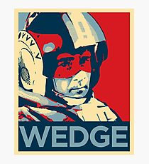 Wedge - Hero of the Rebellion : Inspired By Star Wars Photographic Print