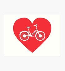 Love Street Bike Art Print