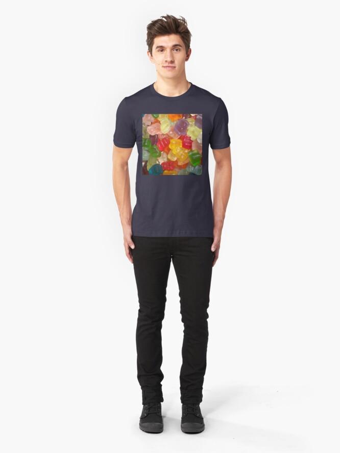 Alternate view of Bears Everywhere Slim Fit T-Shirt