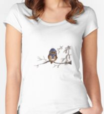 Snow Bird Women's Fitted Scoop T-Shirt