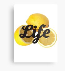 When Life Gives You Lemons 2 Metal Print