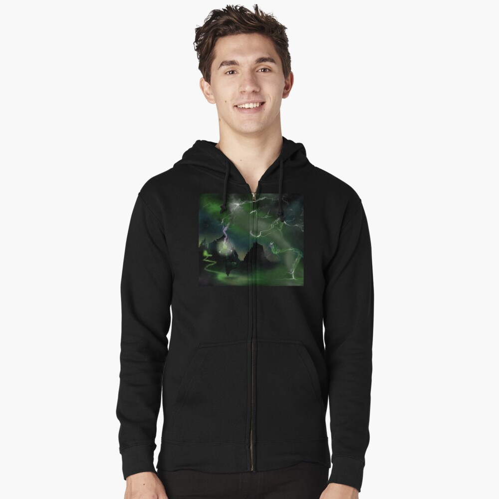 Fury of The Wicked Witch  Zipped Hoodie