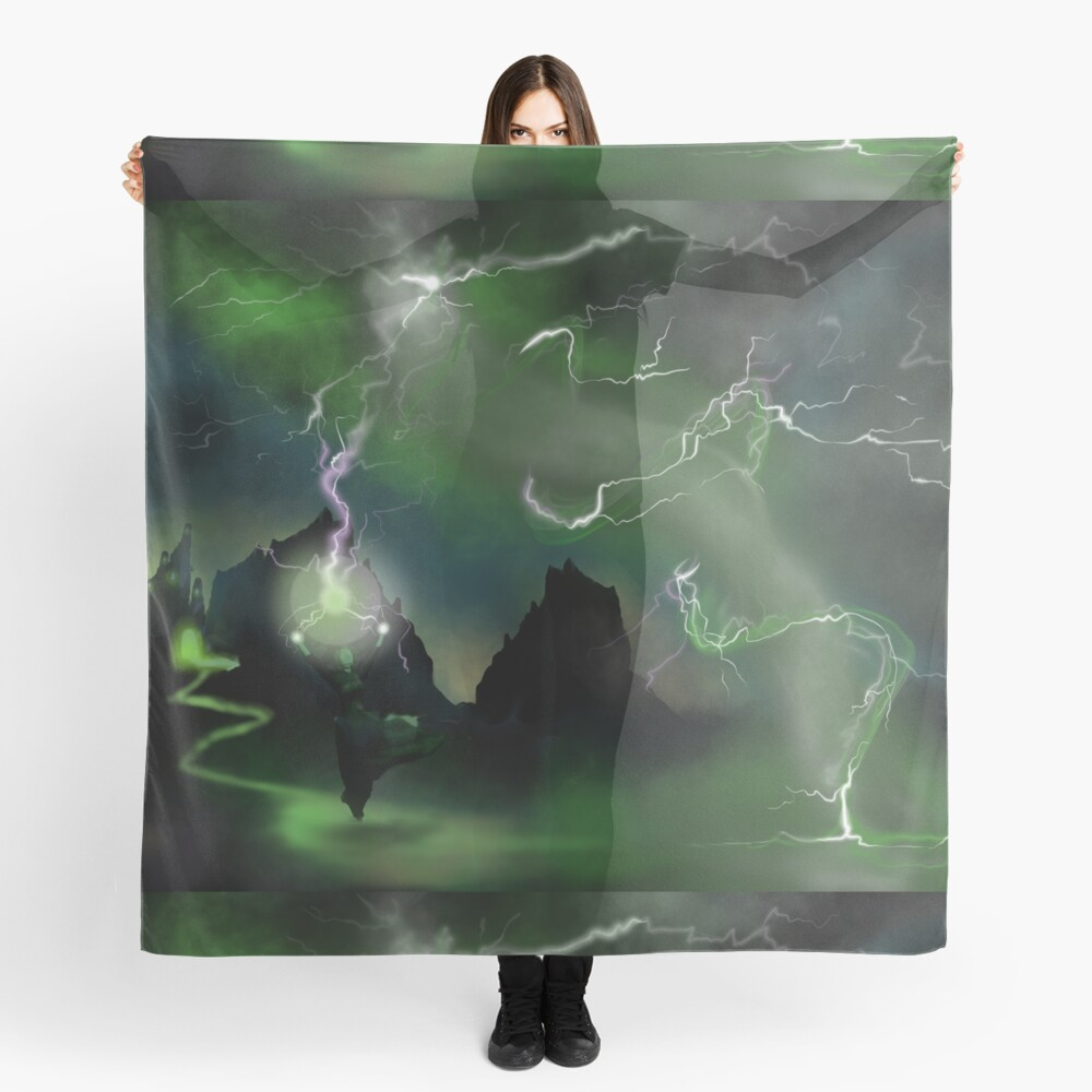 Fury of The Wicked Witch  Scarf