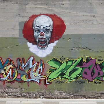 NOT clowning around-wall art by DAdeSimone