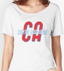 Santa Barbara California Vintage Women's Relaxed Fit T-Shirt