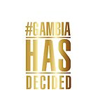 #GambiaHasDecided by Smile Gambia