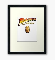 RAIDERS OF THE LOST ARK Framed Print
