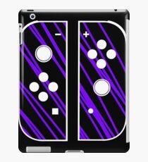 nintendo switch purple iPad Case/Skin