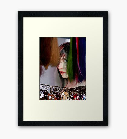 Artistic Hair Framed Print