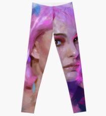 Pink hair Leggings