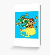 Super Mario Ball Greeting Card
