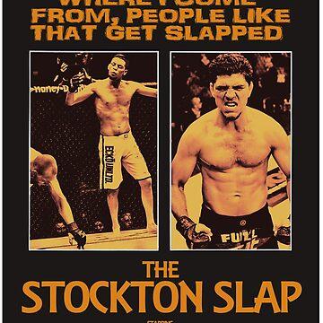 Nick Diaz, Nate Diaz - The Stockton Slap by MartialMania