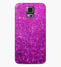 Purple Glitter Shiny Sparkley Case/Skin for Samsung Galaxy