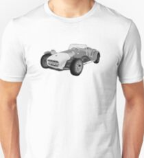 The Prisoner Lotus Seven  REVISEDoct2015 Unisex T-Shirt