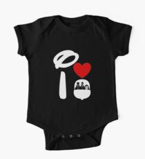 I Heart Haunted Mansion (Inverted) Kids Clothes