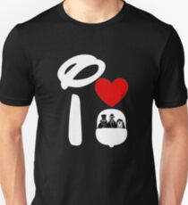 I Heart Haunted Mansion (Inverted) T-Shirt