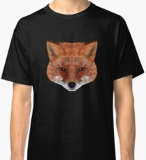 fox. polygonal graphics Classic T-Shirt