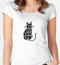 Crazy Cat Lady Women's Fitted Scoop T-Shirt