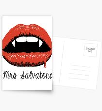 Mrs Salvatore Postcards