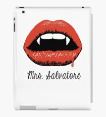 Mrs Salvatore iPad Case/Skin