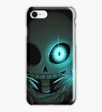 Sans in the shadows - Undertale iPhone Case/Skin