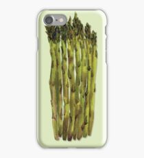 Asparagus Watercolor Painting iPhone Case/Skin