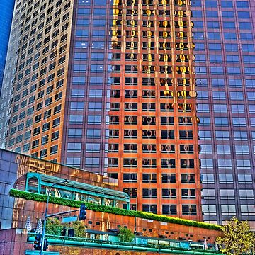 Financial district, reflections by eyalna