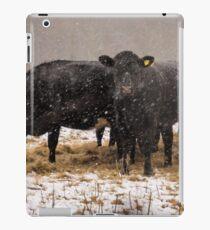 Hay it's snowing ! iPad Case/Skin