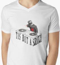 Tis But A Scratch Men's V-Neck T-Shirt