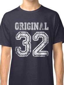 Original 32 2032 1932 T-shirt Birthday Gift Age Year Old Boy Girl Cute Funny Man Woman Jersey Style Classic T-Shirt