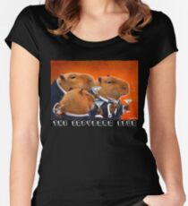 The Capybara Club... Women's Fitted Scoop T-Shirt